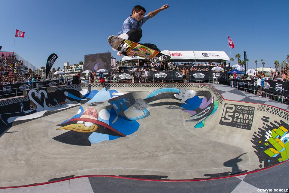 Murilo no Vans Park Series de Huntington Beach